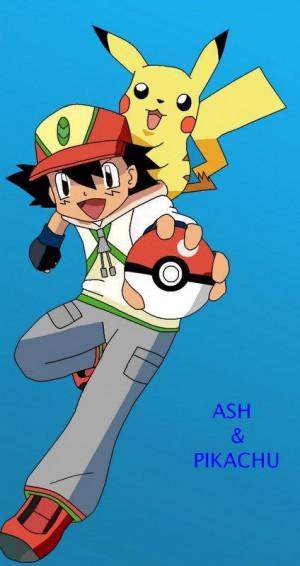 Ash And Pikachu Almia...