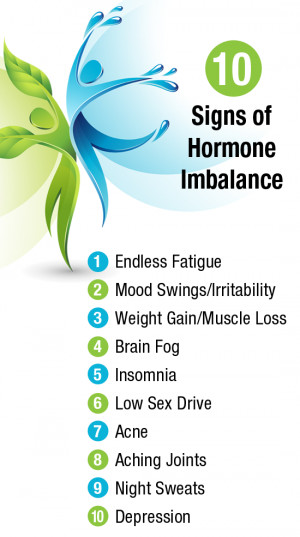 10 Common Symptoms of Hormonal Imbalance