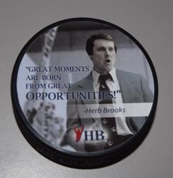 This is another quote from Herb Brooks. This was part of his pregame ...