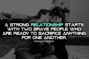 quotes for a strong relationship love is a strong relationship quotes ...