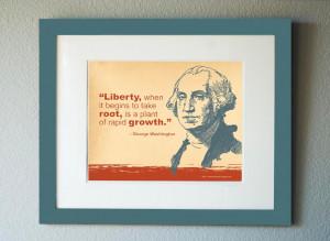 Free George Washington Quote to Frame