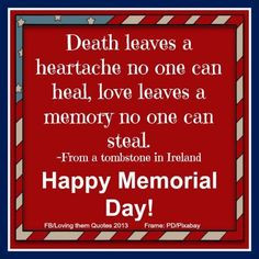 memorial day via loving them quotes on facebook more quotes sayings ...