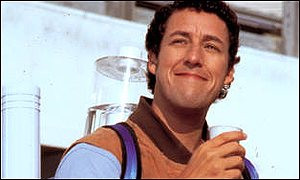 The Waterboy: Adam Sandler stars as the nerd with grandiose dreams