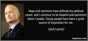 Quotes About Optimism By Famous People