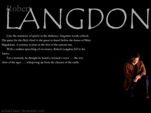 Robert Langdon - Da Vinci Code by Wicked-Loser