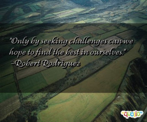 Famous Quotes About Challenges