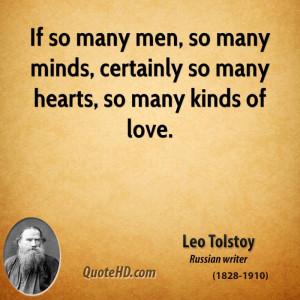 Leo Tolstoy Men Quotes