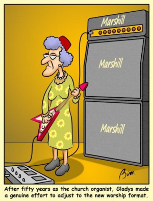 The Week in Funny Music Pictures! Several music-themed cartoons flew ...
