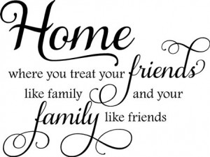 friends are like family quote most people have family that they weren ...