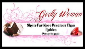 Choose Godly Woman Topics