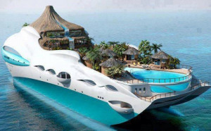 Tropical Island Yacht Cruise Ship, United Kingdom