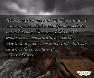 Vasectomy Quotes