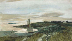 "tonypetersart: Andrew Wyeth quote - ""There are no rules in my work ..."