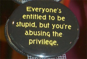 Stupid People Quotes and Sayings