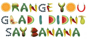 ... Orange You Glad Typography by #foredasia on #deviantART #quotes #
