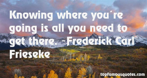 Knowing where you're going is all you need to get there.