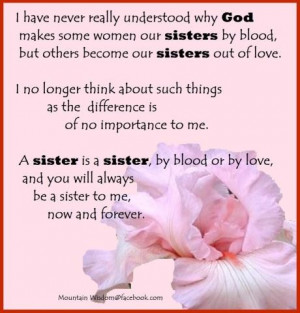 Grateful for all my sisters
