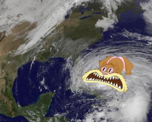 ... hurricane weather sandy satellite sandy cheeks hurricane sandy sponge