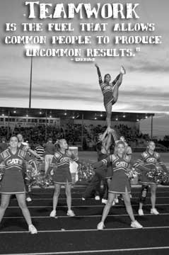 Inspirational Quotes About Cheerleading