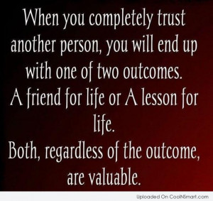 Trust No One Quotes And Sayings Trust Quote When you