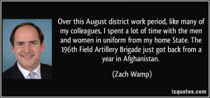 More Zach Wamp Quotes