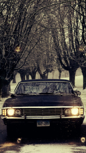 supernatural car impala wallpaper - photo #32