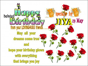 Belated Happy Birthday Wishes Wallpapers