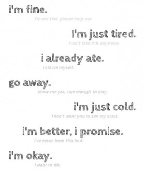self harm cutting quotes tumblr