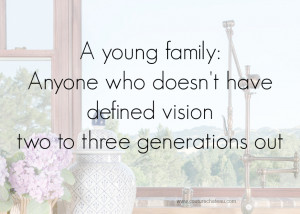 Young Family Quote