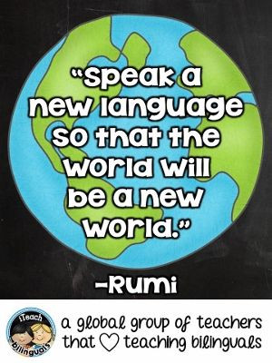 Teacher Quote: Second Language Learning