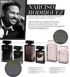 Narciso Rodriguez on perfume: for him & her