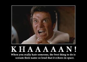 More inspiration from Captain Kirk