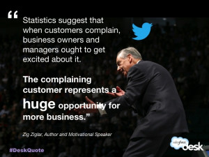 Zig Ziglar, Author and Motivational Speaker #customerservice #quotes