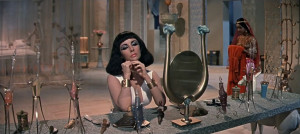 Elizabeth Taylor as Cleopatra in Cleopatra (1963)