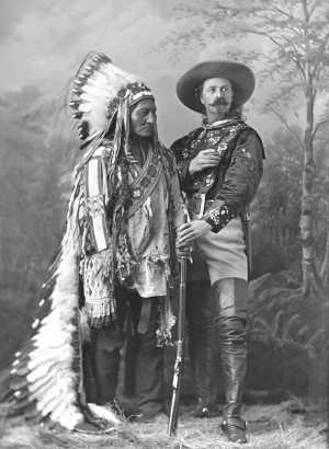 ... and Sitting Bull Play Cowboys and Indians in Toronto Wild West show
