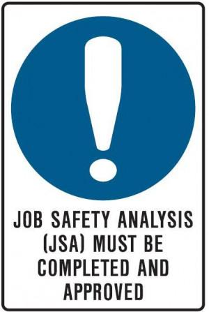 job safety analysis jsa job safety analysis jsa