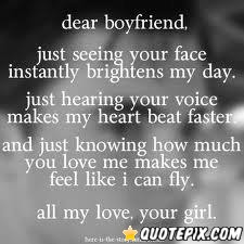 Dear Future Boyfriend Quotes