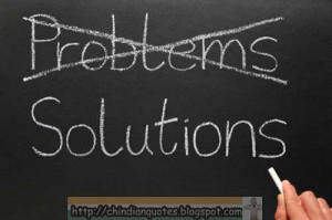 What is the best approach to solve the problems?