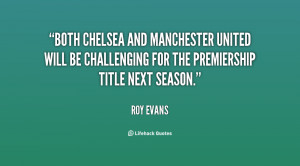 Both Chelsea and Manchester United will be challenging for the ...