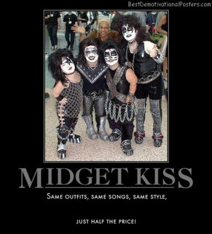 Midgets may be larger than they appear in catalog Dead midget not