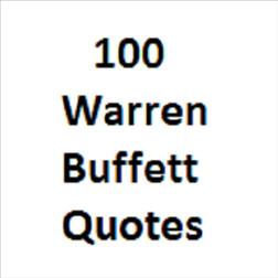 100 Warren Buffett Quotes