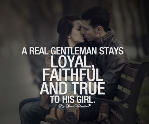 real gentleman Love letter quotes for him