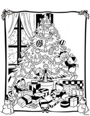 ... coloring christmas pages below disney coloring pages of donald and