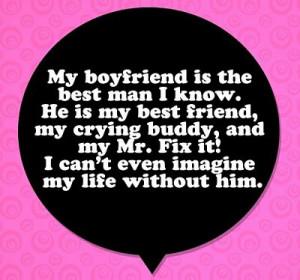 The Best Man - Boyfriend Quote