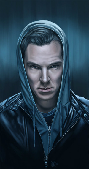 "... ' Fan Art Portrait Of Benedict Cumberbatch's ""John Harrison"
