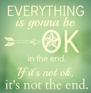 It's Gonna Be Ok...