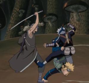 Kakashi And Minato Mahiru Narutopedia Naruto Shippuuden