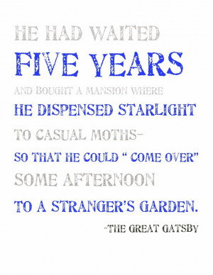 the corrupting influence of wealth in f scott fitzgeralds the great gatsby The great gatsby, by f scott fitzgerald after all he knows about the infinite hope of the frontier spirit, and he also has witnessed the corruption of the american promise of equality for all it is difficult to assess the enormous influence of the great gatsby.