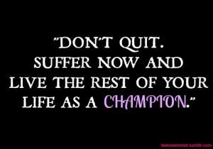 Dedication Quotes Sports