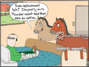 knee surgery cartoons, knee surgery cartoon, funny, knee surgery ...
